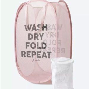 NIB Victoria's Secret PINK Laundry Basket Hamper